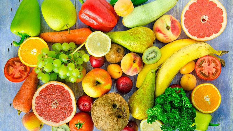 Consumo de frutas y verduras e incidencia de diabetes