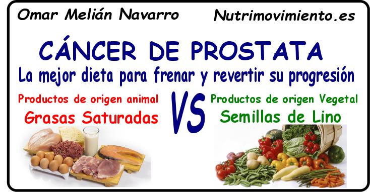Dieta para cancer de prostata